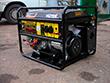 Портативный бензиновый электрогенератор Huter DY6500LX