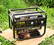 Портативный бензиновый электрогенератор Huter DY6500LXA