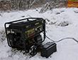 Портативный бензиновый электрогенератор Huter DY8000LX-3