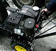 Запуск двигателя Huter SGC 4100